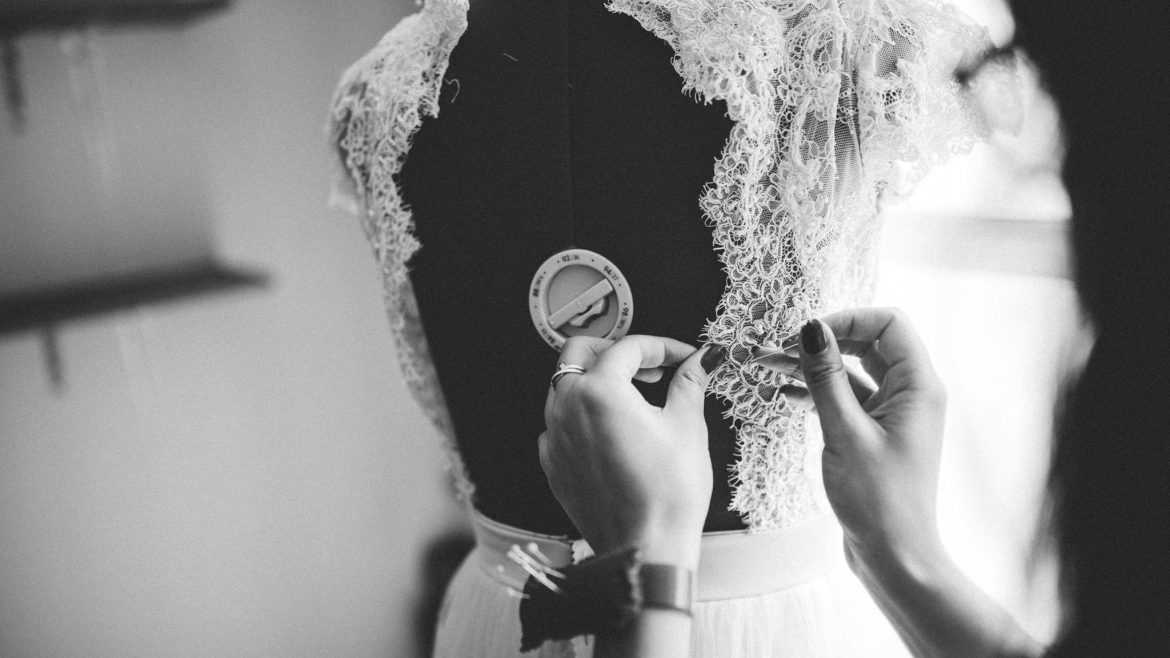 Oh Huntress Hand-crafted wedding dress durban